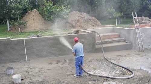 piscina beton