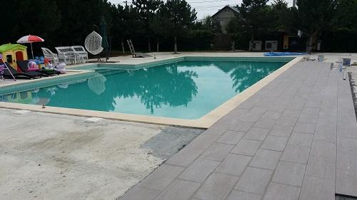 piscina din beton torcretat
