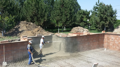 piscine beton torcretat