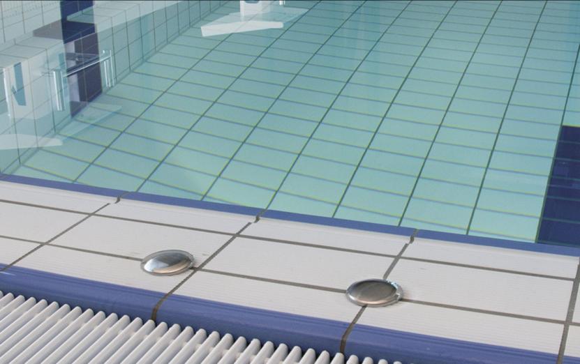 gresie piscina publica