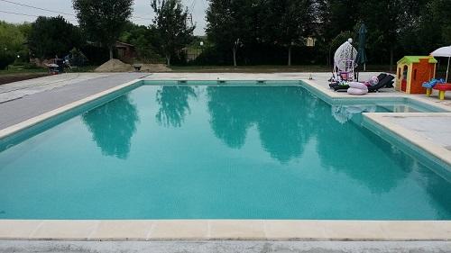 piscina cu filtrare apa cu skimmer